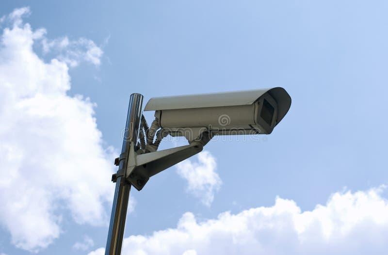 Überwachungskamera stockfotografie