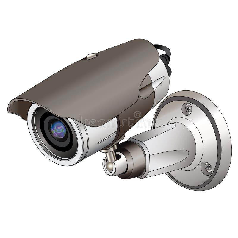 Überwachungskamera vektor abbildung