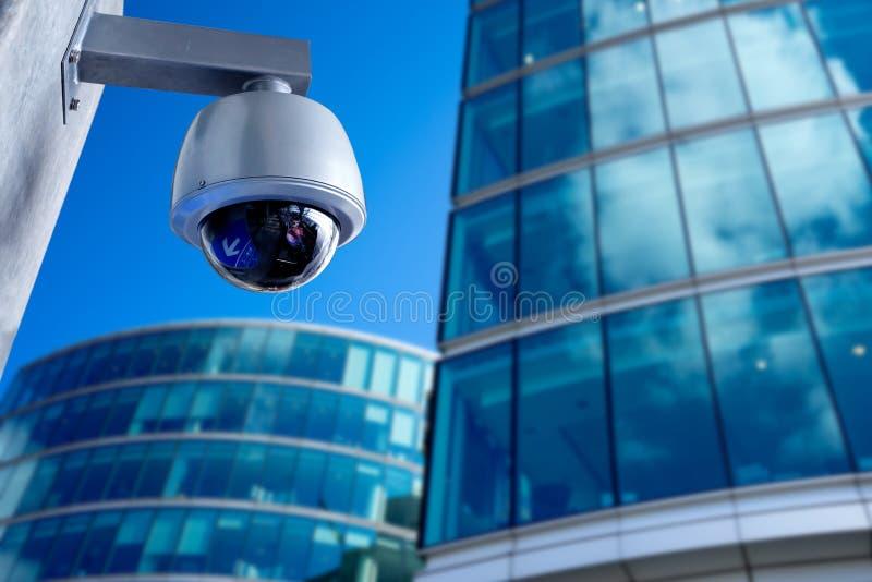 Überwachungskamera, CCTV auf Geschäftsbürogebäude