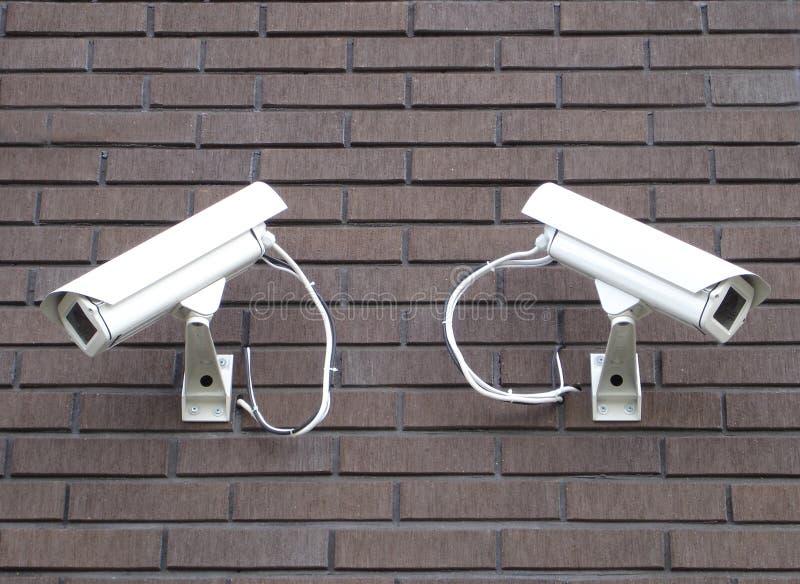 Überwachungskameras lizenzfreie stockbilder