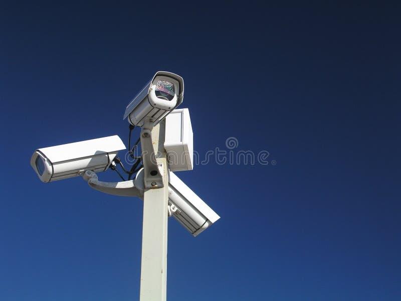 Überwachungskameras lizenzfreies stockbild