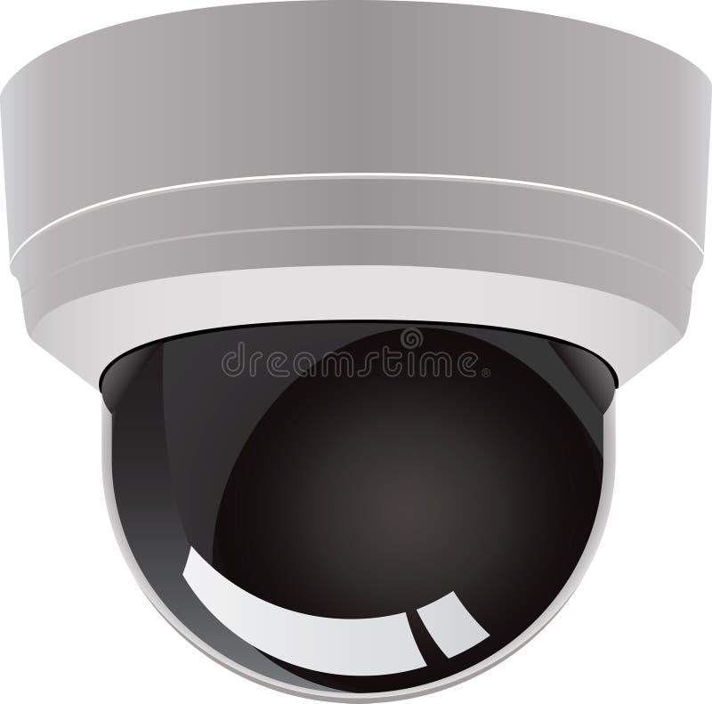 Überwachungskameravektor stock abbildung