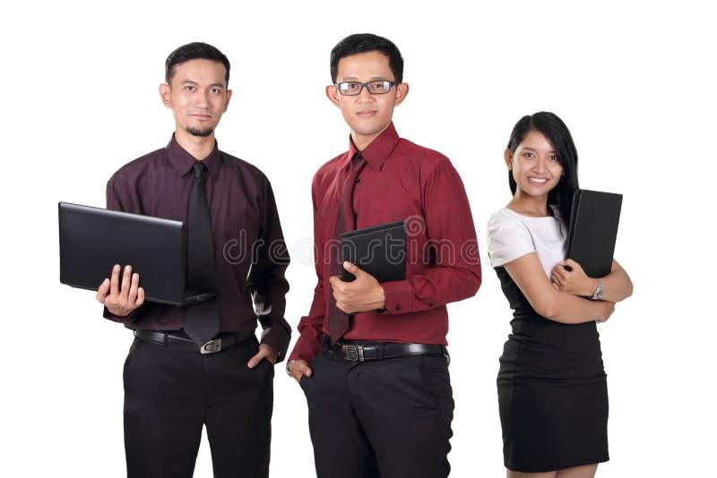 Überzeugte Büroangestellte stockfotos