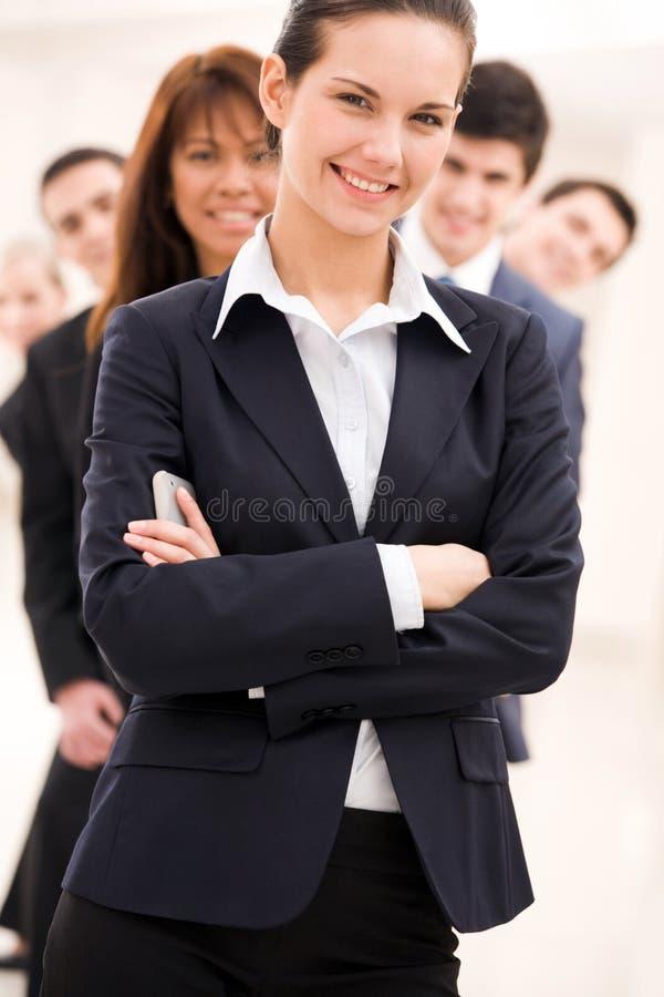 Überzeugter Arbeitgeber lizenzfreie stockfotografie