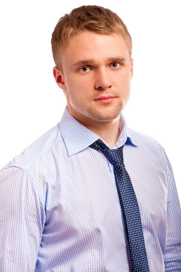 Überzeugter Geschäftsmann. lizenzfreies stockfoto