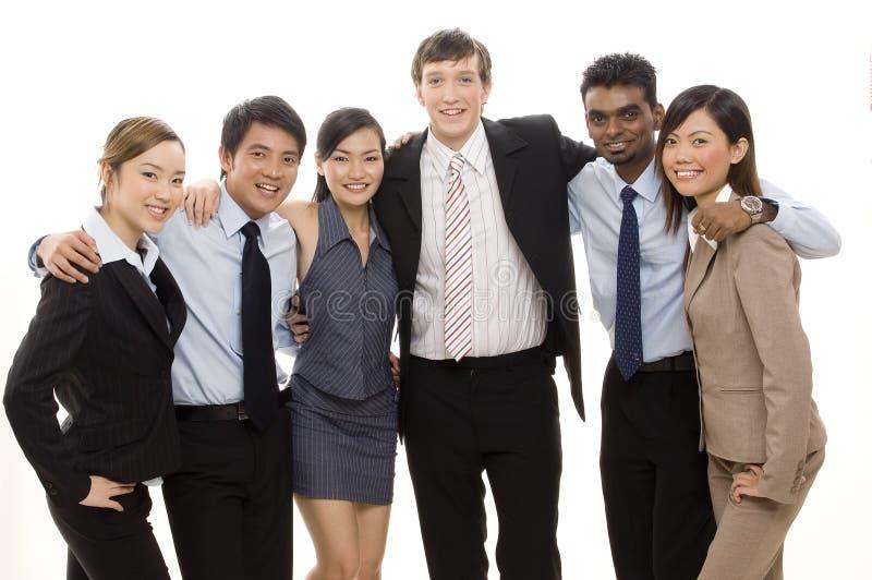 Überzeugtes Geschäfts-Team 4 lizenzfreie stockfotos
