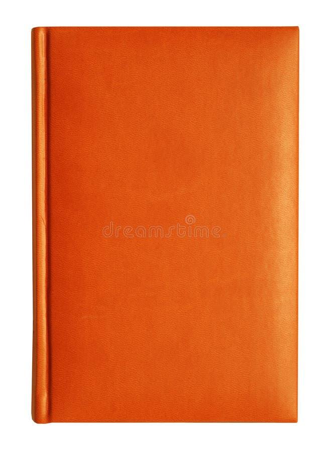 Überziehen Sie Notizbuch mit Leder lizenzfreie stockfotos
