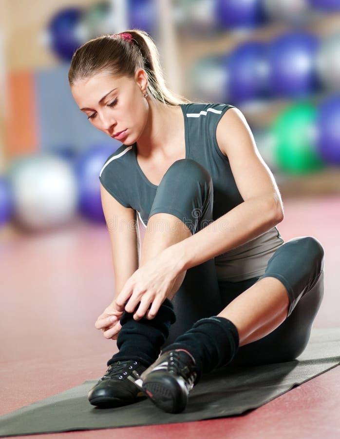 ćwiczenia sprawności fizycznej gym sporta joga obraz royalty free