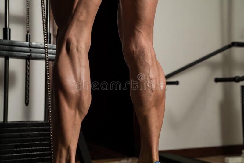 Ćwiczenie Dla nóg łydek zdjęcia royalty free