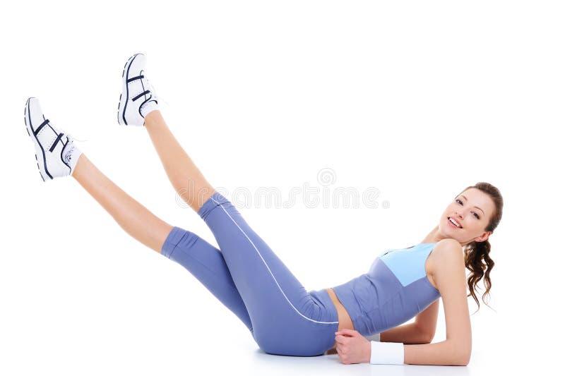ćwiczy gimnastycznego obrazy stock