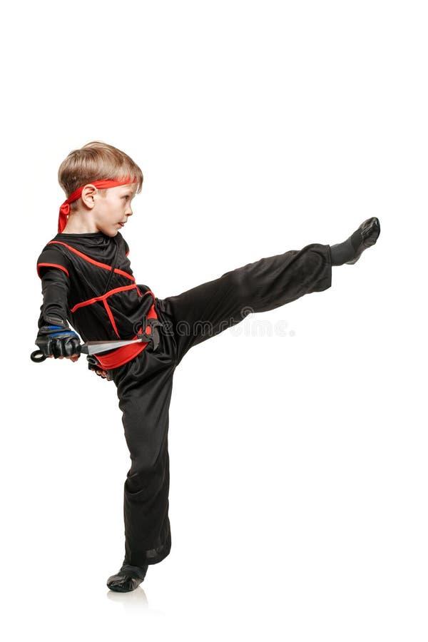 Ćwiczy nogi kopnięcie obrazy royalty free