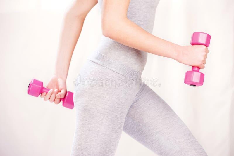 ćwiczy sprawność fizyczną fotografia stock