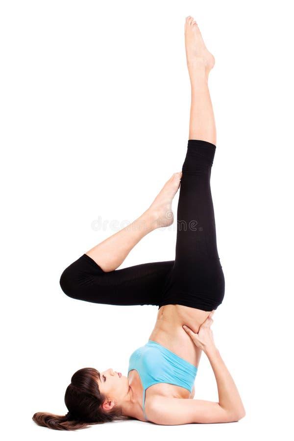 ćwiczy sprawność fizyczną fotografia royalty free