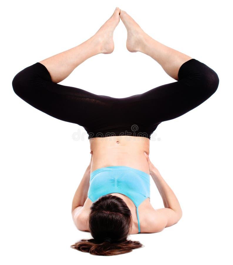 ćwiczy sprawność fizyczną obraz royalty free