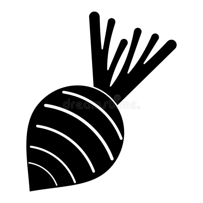 Ćwikłowy jarzynowy odżywianie piktogram ilustracja wektor