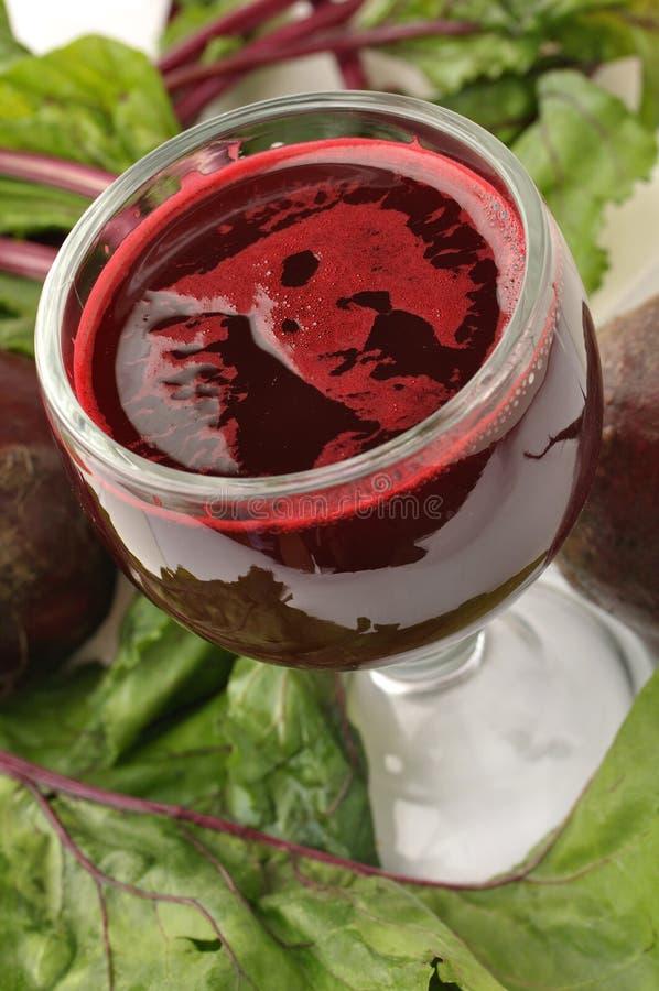 ćwikłowy sok zdjęcie royalty free