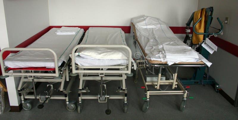 łóżek szpitalnych zdjęcia stock