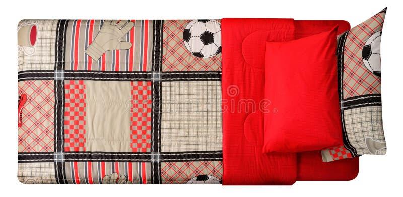 Łóżko Ścinek ścieżka zdjęcie stock