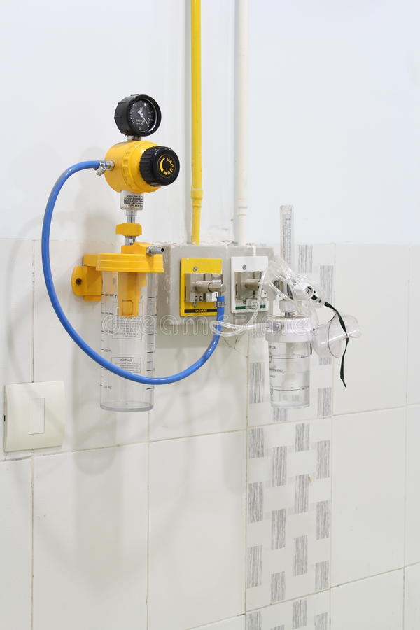 Łóżko Kierowniczy system w szpitalu fotografia stock