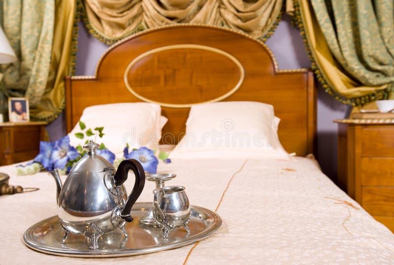 łóżkowa kawa obrazy stock
