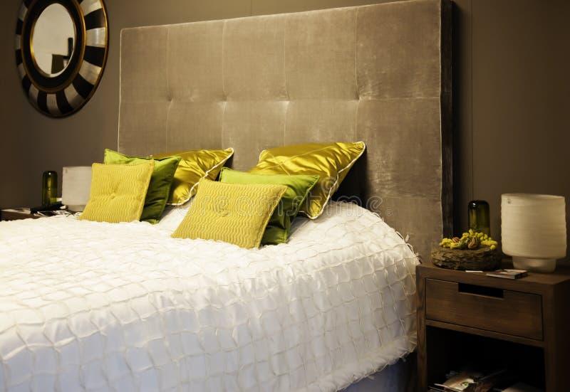Łóżkowa tkanina zdjęcia stock