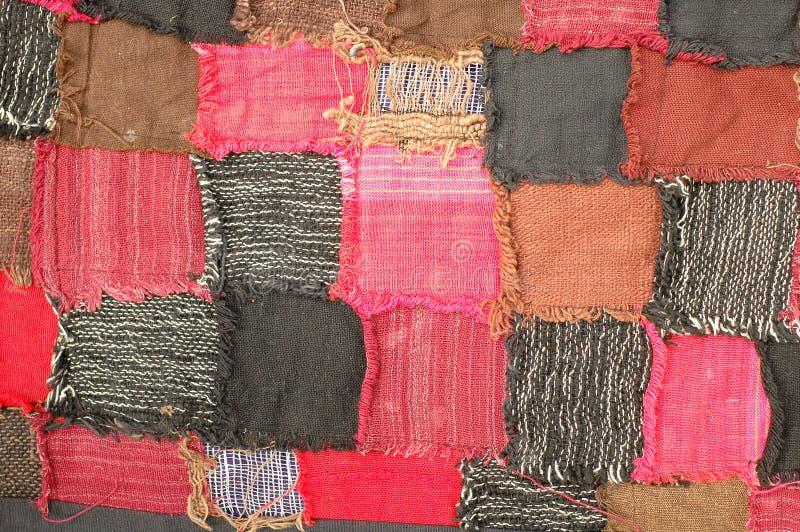łóżkowej pokrywy tekstura zdjęcia stock