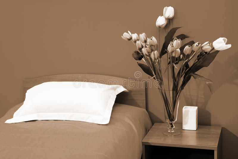 łóżkowy coverlet zdjęcie stock