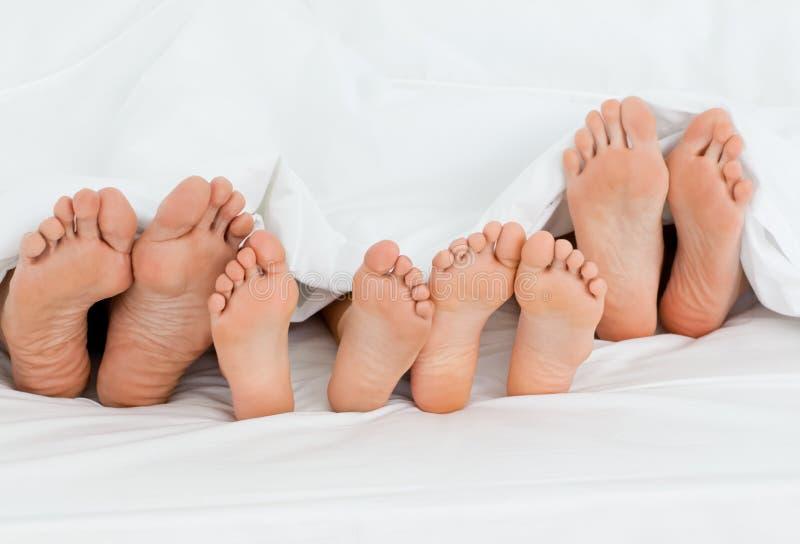 łóżkowy dom rodzinny zdjęcia stock