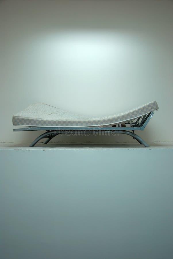 łóżkowy hopital stary być ubranym fotografia royalty free