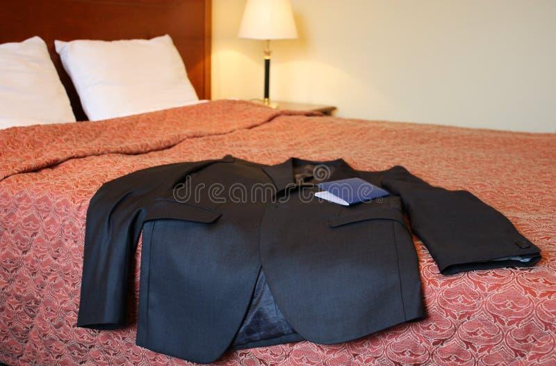 łóżkowy hotelowy kostium fotografia royalty free