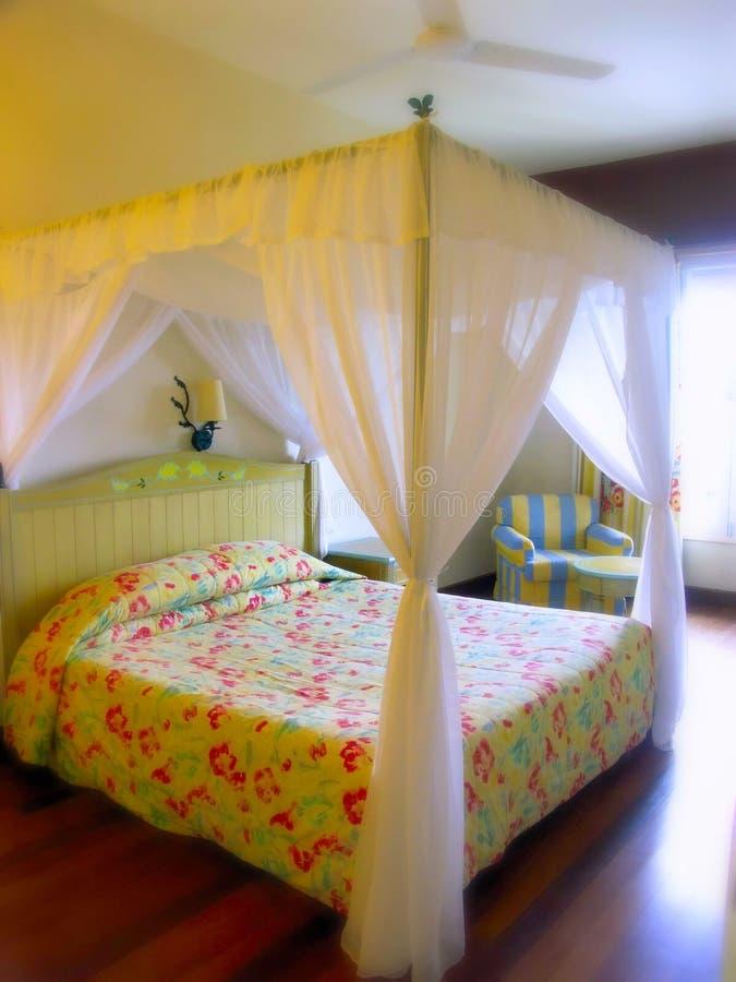 łóżkowy królewiątko pokoju rozmiar obraz royalty free