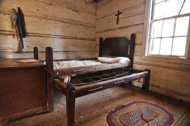 łóżkowy pionier zdjęcia stock