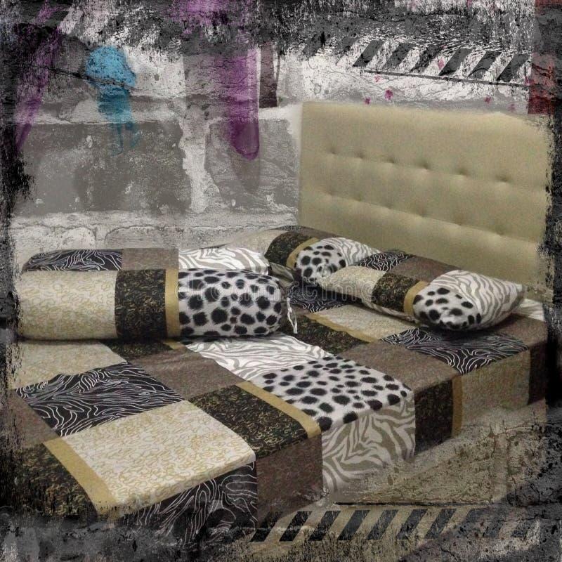 Łóżkowy pokój zdjęcia stock