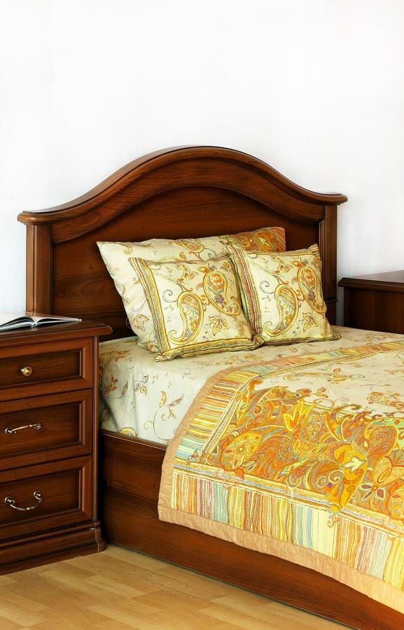 łóżkowy stary zdjęcia stock