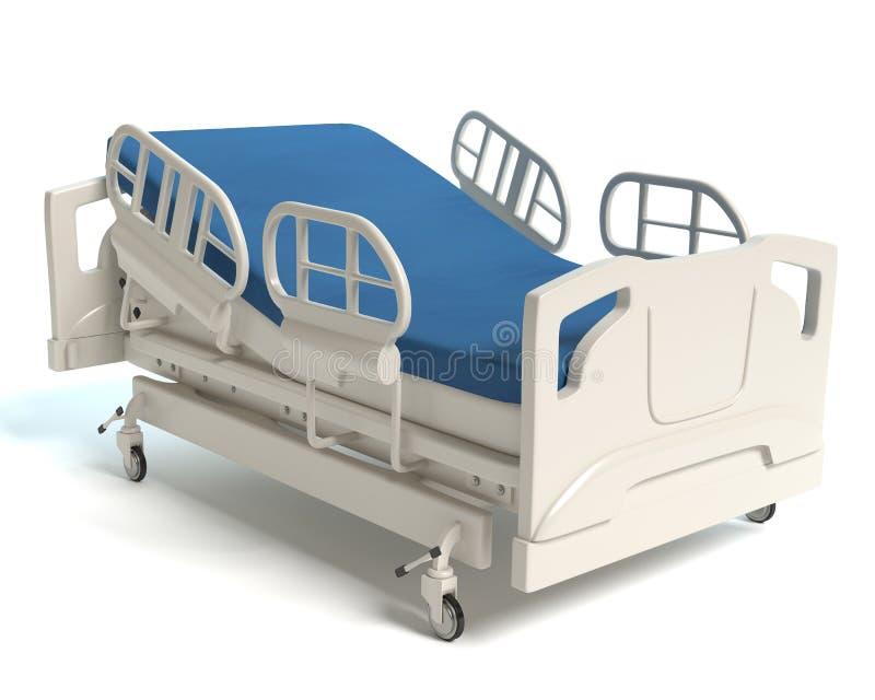 łóżkowy zielony szpitalny mały macierzysty pobliski nowonarodzony s royalty ilustracja