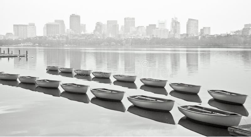 łódź boston zdjęcie stock