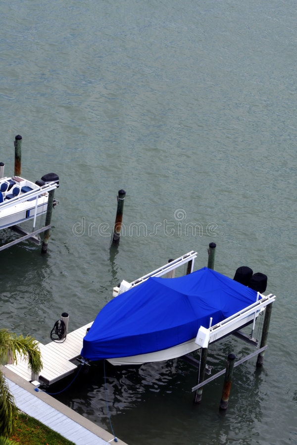łódź dokująca zdjęcie royalty free