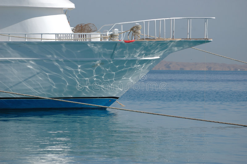 łódź dokująca zdjęcie stock