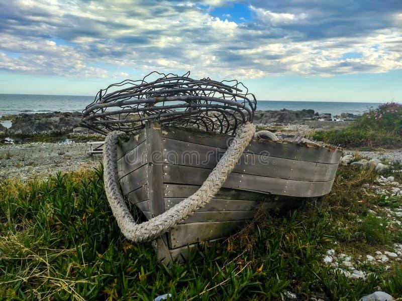 łódź gubił obraz royalty free