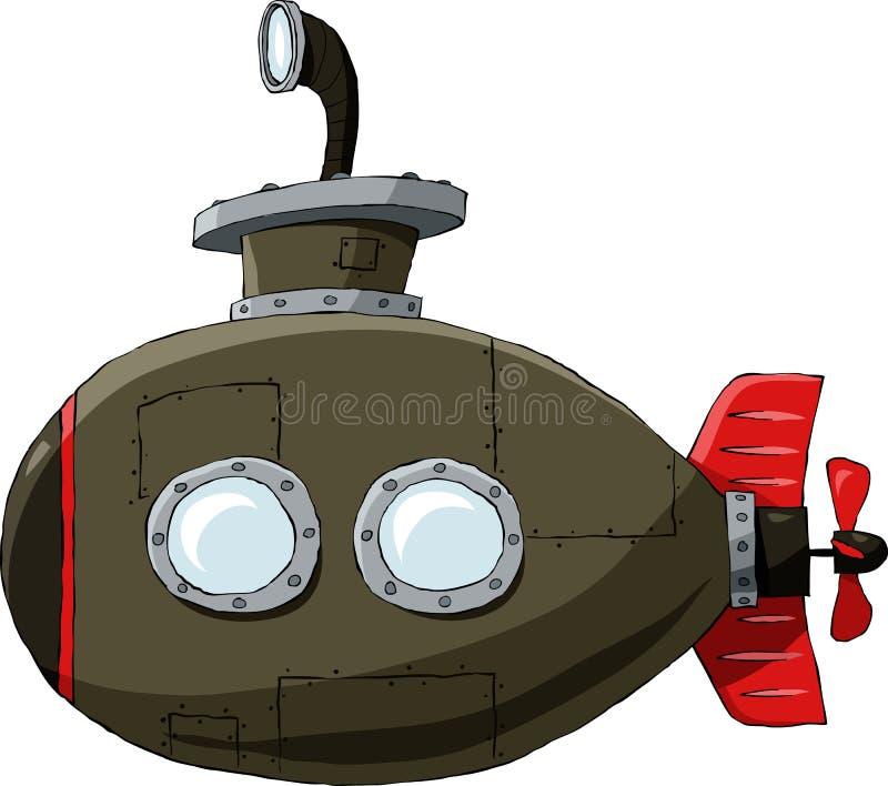 łódź podwodna royalty ilustracja