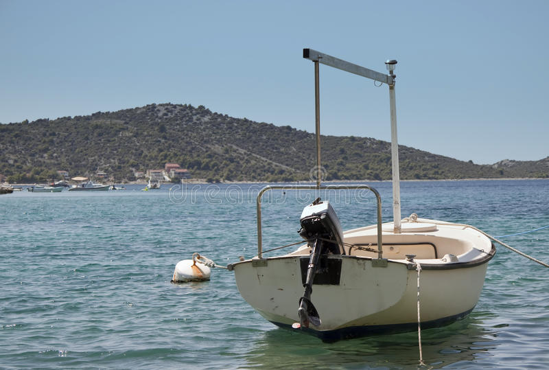 łódź port zdjęcie stock