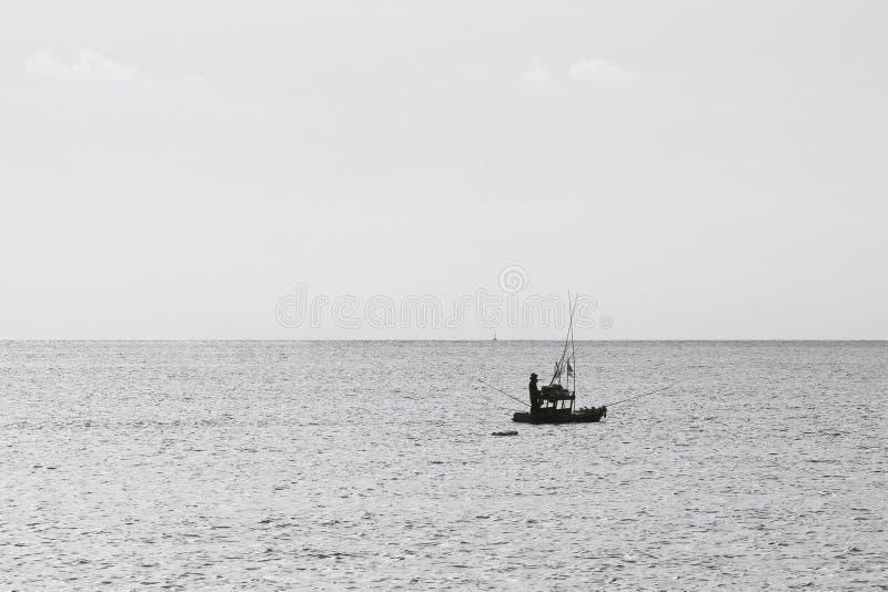 Łódź rybacka, lokalny rybołówstwo fotografia royalty free
