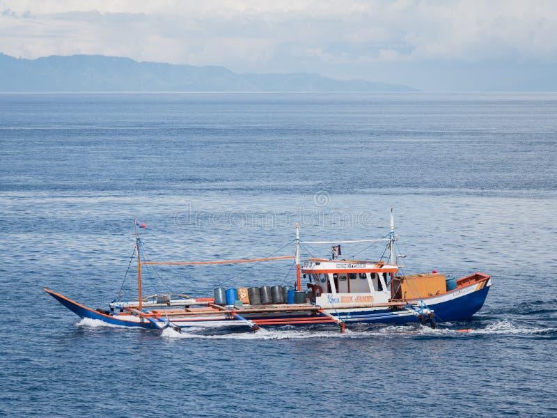 Łódź rybacka w Filipiny zdjęcie stock