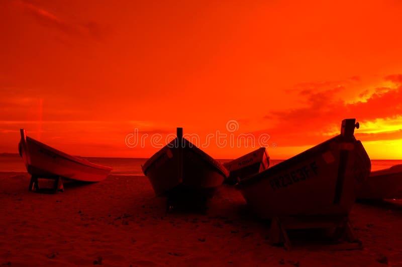 łódź słońca zdjęcia stock