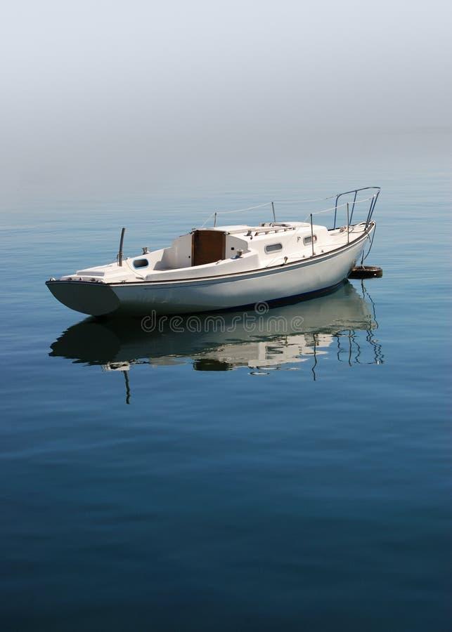 łódź spokojna zdjęcie royalty free
