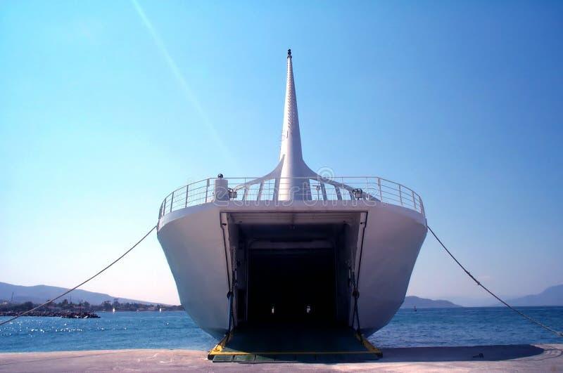 łódka ładunku fotografia royalty free