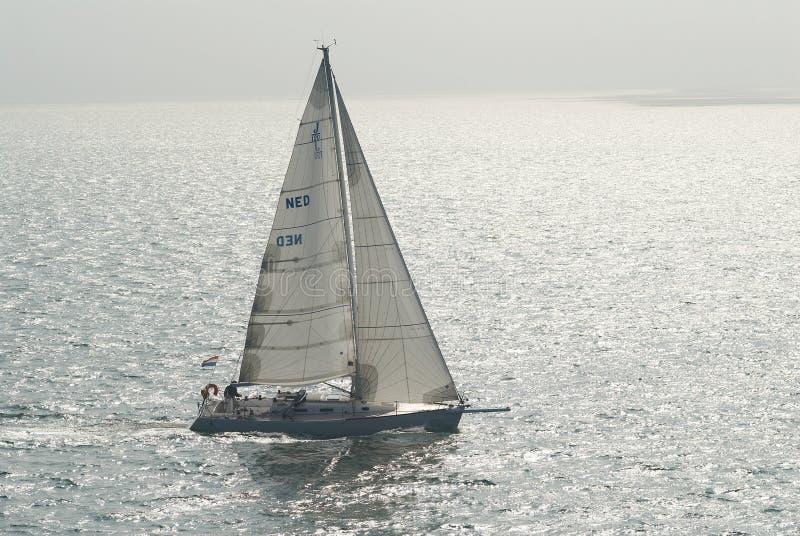 łódka żeglując fotografia stock