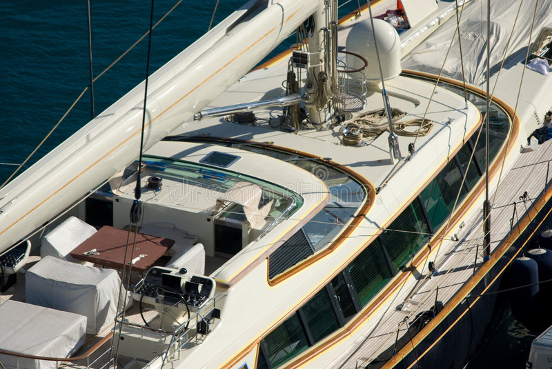 łódka żeglując zdjęcie stock