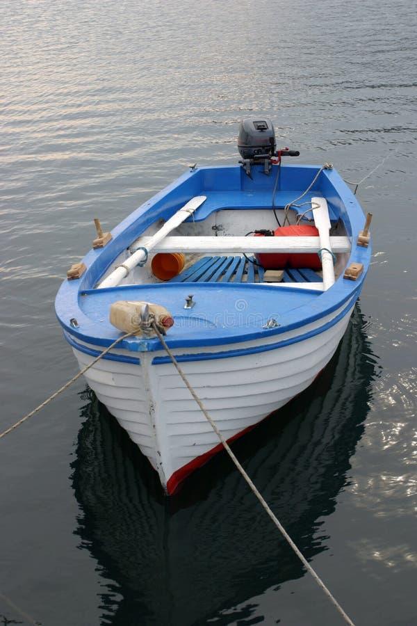 łódka jest rybakiem obrazy stock
