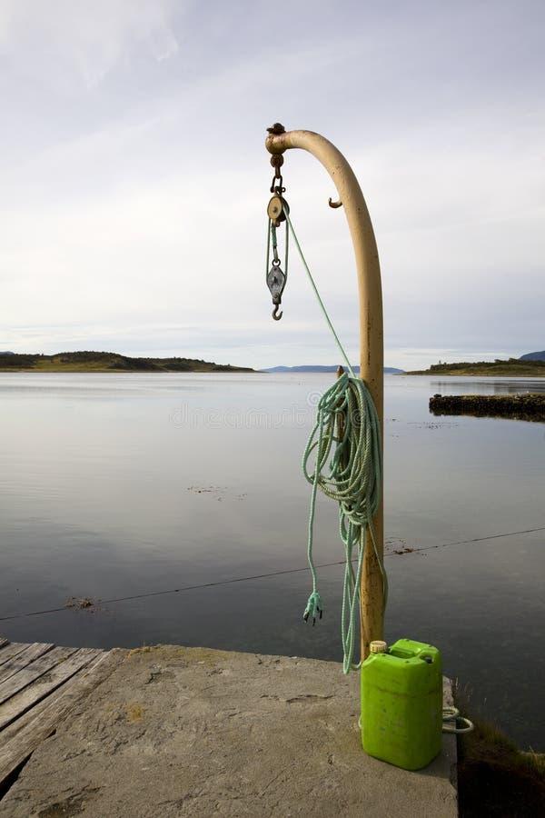 łódka pully grupowego zdjęcie stock
